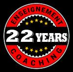 22 ans d'enseignement