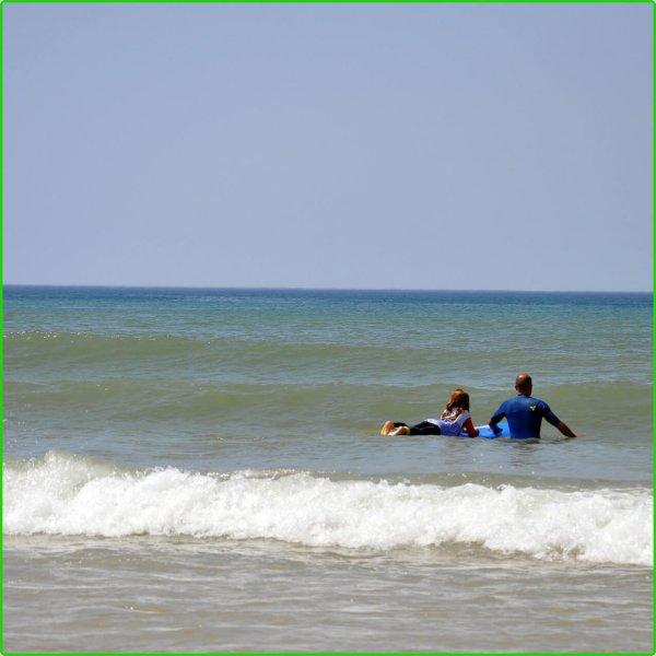 Cours particuliers de surf