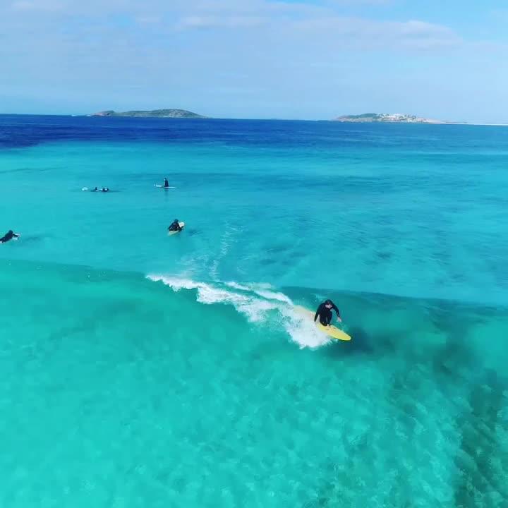 Cap Ferret Surf School a partagé la vidéo de la World Surf Leagu