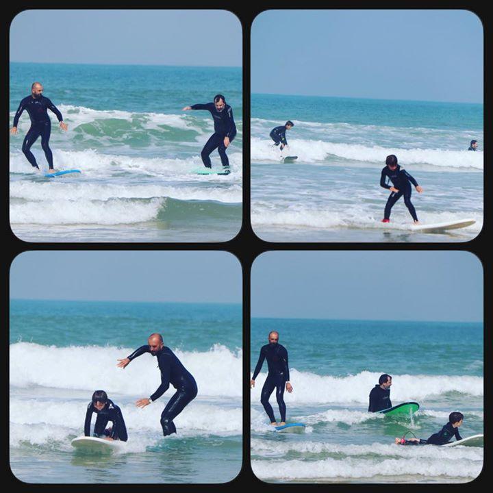 Cap Ferret Surf School a ajouté une nouvelle photo – à Cap Ferret Surf School